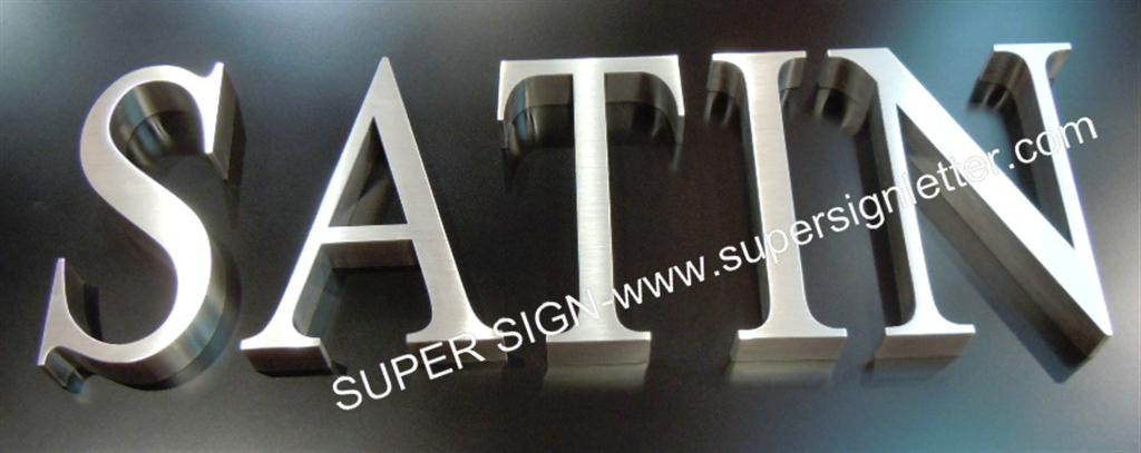 satin stainless steel lettering 05