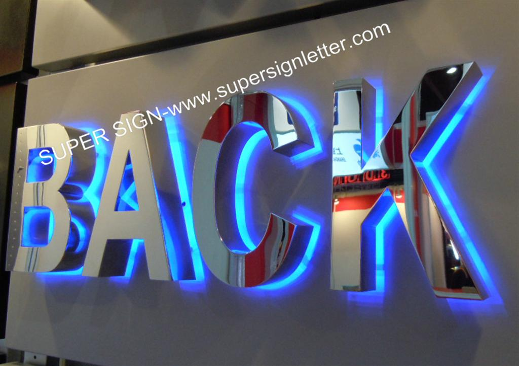 Metal Letter Signs With Lights Backlit Led Lettersbacklit Led Sign Lettersbacklit Led Letters