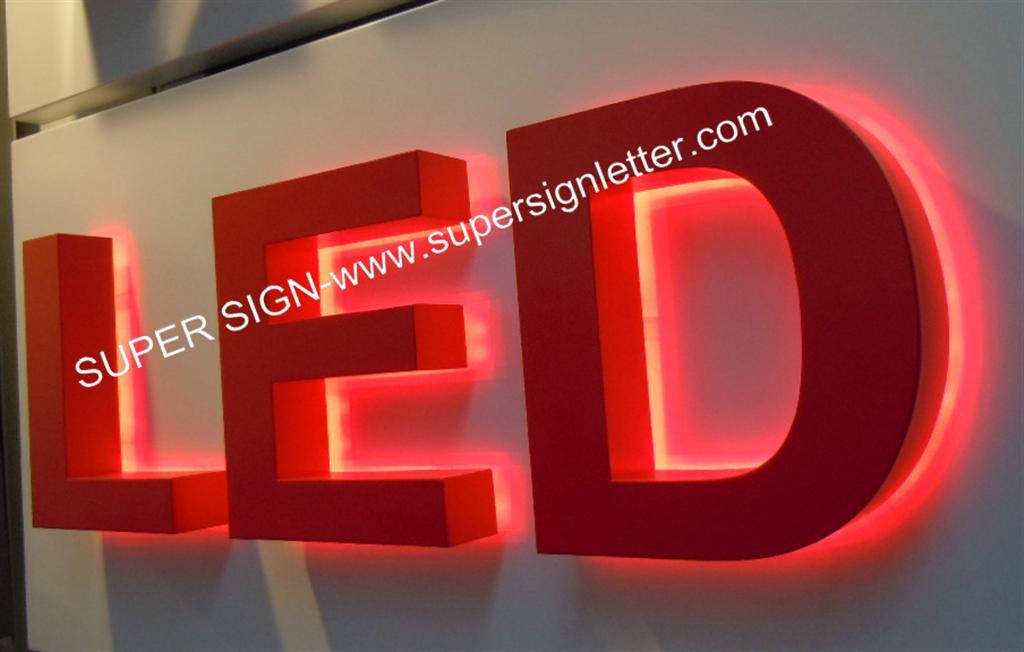 halo illumination LED letters 02