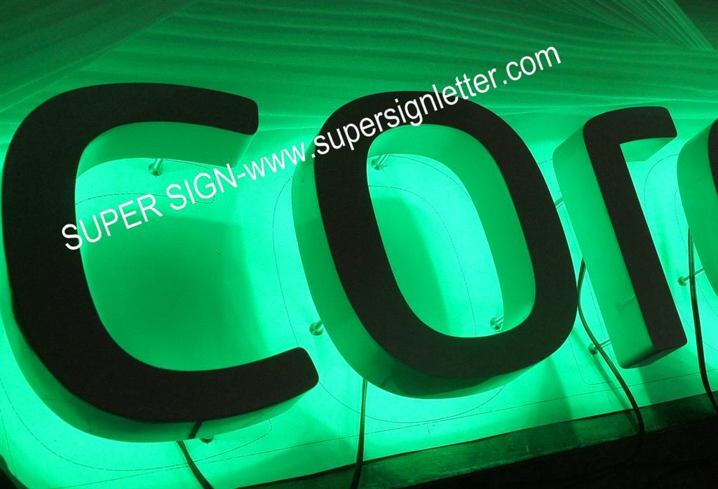 halo illumination LED sign letters 06