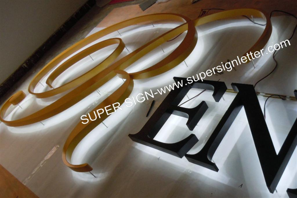 backlit LED sign letters 09