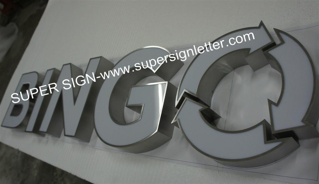 frontlit LED sign letters 02
