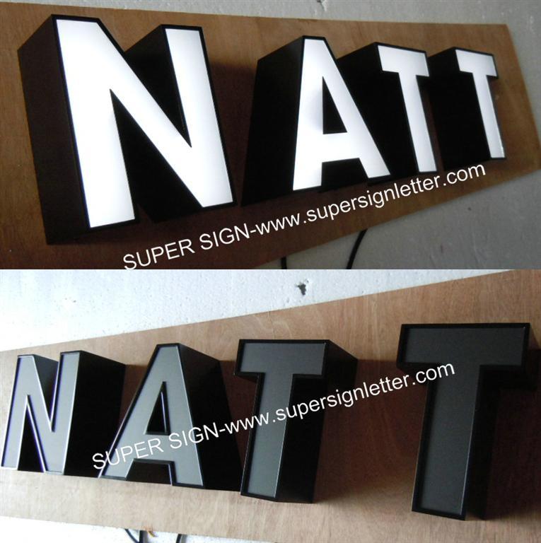 facelit LED channel letters 05
