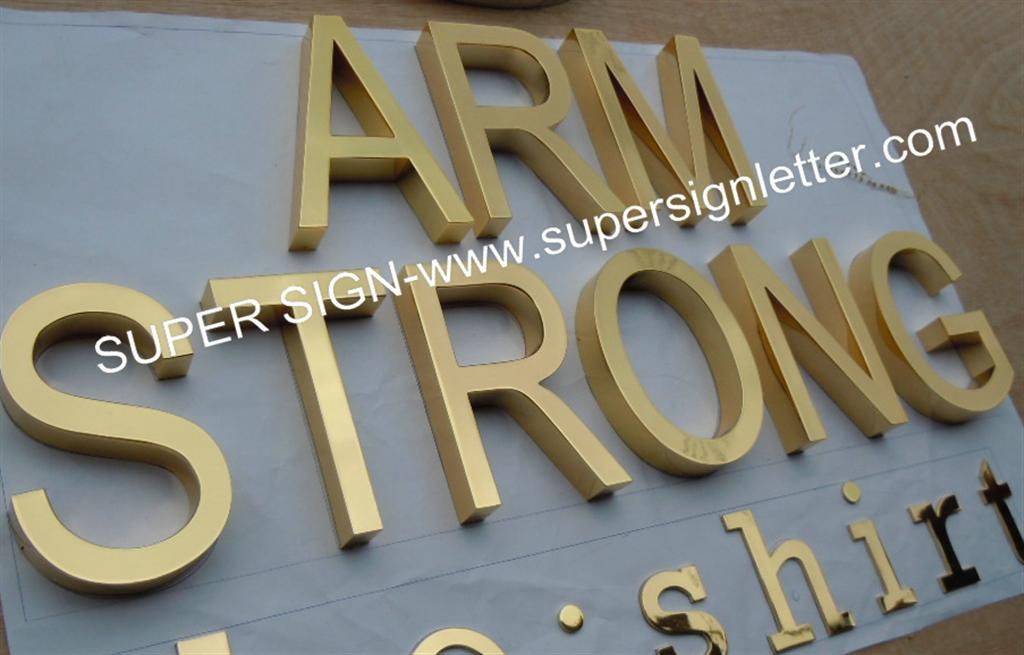 polished brass lettering 01