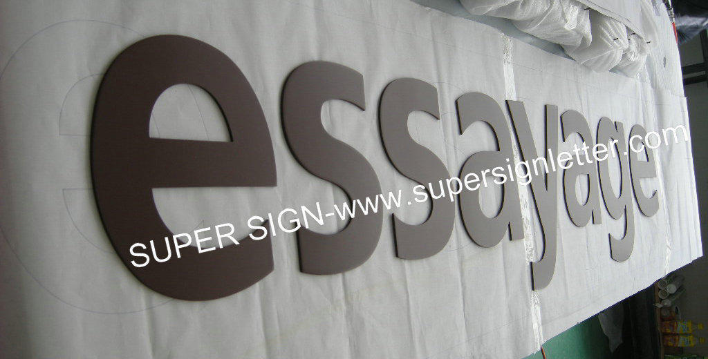 painted acrylic letters 03