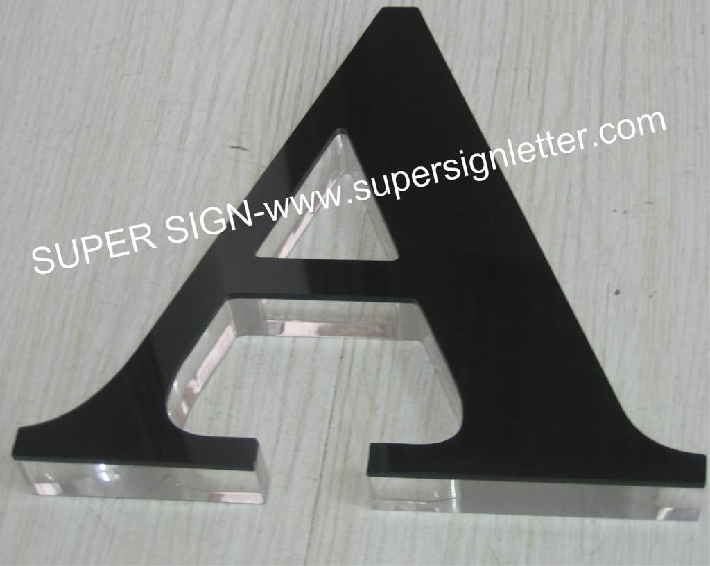 painted acrylic letters sign 07